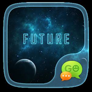 (FREE) GO SMS PRO FUTURE THEME icon