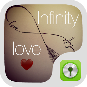 Infinity Love GO LOCKER THEME icon