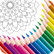 Color Mandala Book - Mandala Coloring Art icon