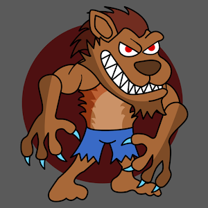 Angry Werewolf Clash icon