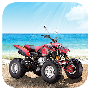 Beach Motorcycle Jigsaw icon
