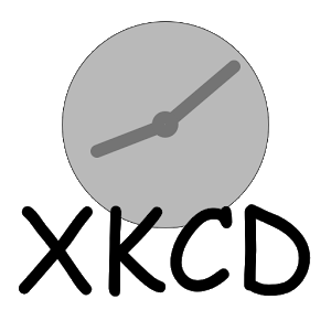 XKCD Clock icon