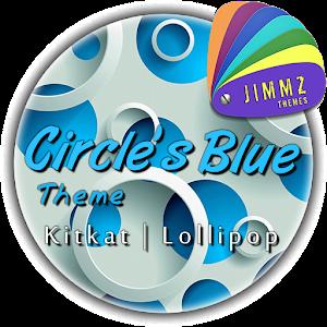 eXperiaz Theme - Circle's Blue icon