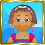 Baby Daisy Bathing Time icon