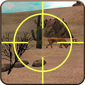 Deer Hunting in Desert icon
