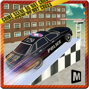 Police Roof Car Jump & Stunts icon