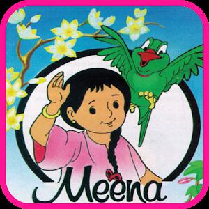 Meena Kids Cartoon icon
