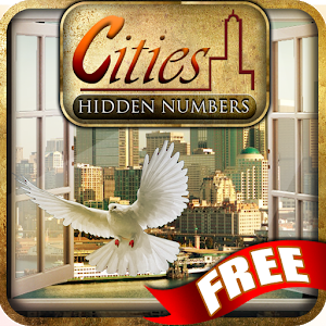Cities Hidden Numbers icon