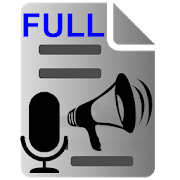 Voice to Text Text to Voice FULL icon