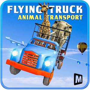 Animal Cargo Flying Truck icon