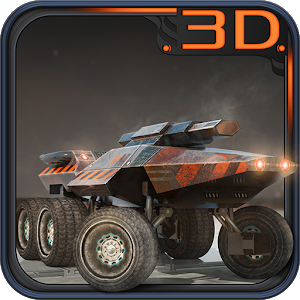 Space Moon Rover 3D Parking icon