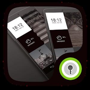 Black & White GO Locker FREE icon