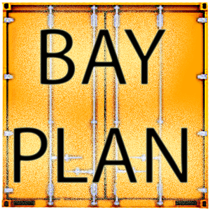 Ships Container Bayplan icon
