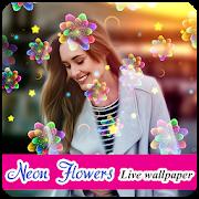 neon flowers livewallpaper apprecs