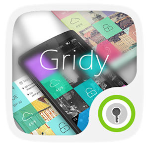 (FREE)Gridy GO Launcher Theme icon