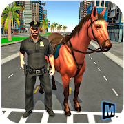 Mounted Police Horse Chase 3D icon