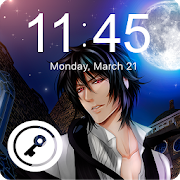 Black Anime Butler Sebastian Screen Lock icon