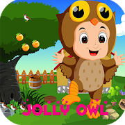 Best Escape Game 410 - jolly owl Rescue Game icon
