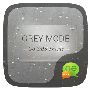 (FREE) GO SMS GREYMODE THEME icon
