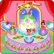 Baby Princess Cake Cooking icon
