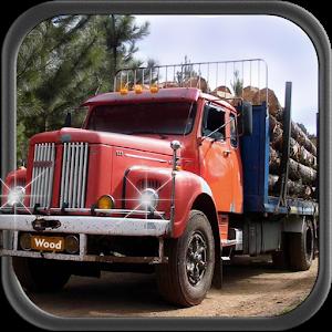 Mountain Wood Cargo Trucker 3D icon