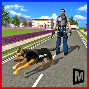 Police Dog City Crime Chase icon