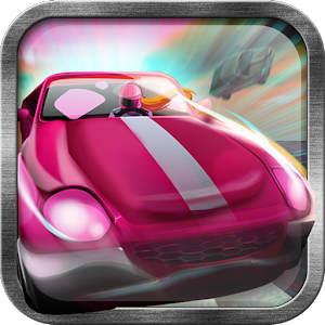 Paper Girl Car Racing Game icon