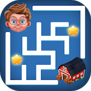 Educational Maze Puzzle : Kids Maze Game icon