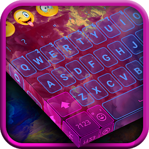 Colorful Cloud Keyboard Theme icon