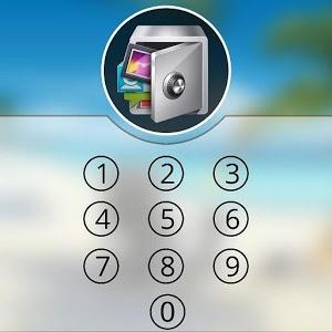 Lock Screen App & Gallery lock icon