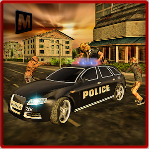 Police Driver Zombie Shooter icon