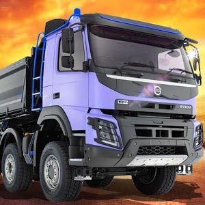 Goods Transporter 3D icon