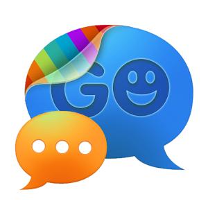 GO SMS pro Blue Quiet Premium icon