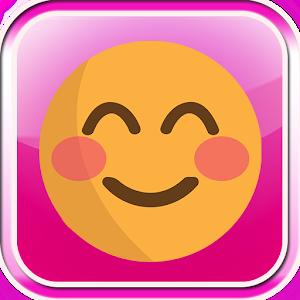 Pink Emoji Keyboard icon