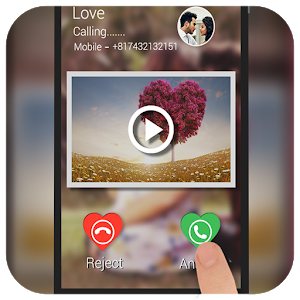 Video Caller ID: Love Theme icon