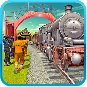 Police Prison Transport Train icon