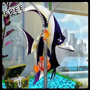 Aquarium Fish Zip Lock Screen icon