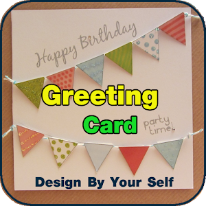 greetings cards maker free icon