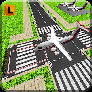 Airplane Parking 3D Simulator icon
