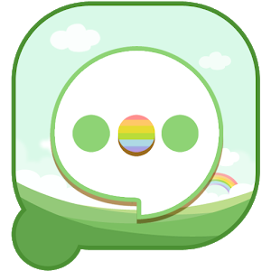 Easy SMS Spring Green theme icon