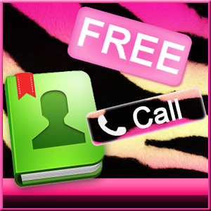 Pink Zebra for GO Contacts icon