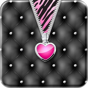 ♥ Heart Zipper Lock Screen ♥ icon