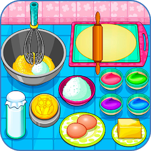 Cook owl cookies for kids icon