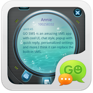 GO SMS PRO Hatch Popup ThemeEX icon
