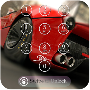 Car Keypad Screen Lock Theme icon