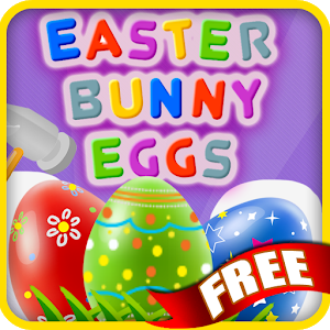 Easter Bunny Eggs Free icon