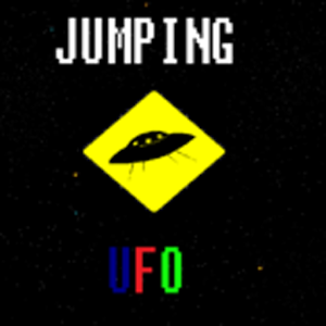 Jumping UFO icon