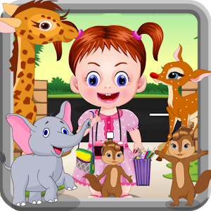 Baby At The Zoo - Animal Games icon