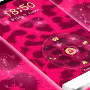 Pink Cheetah Lock icon