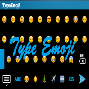 TypeEmoji - Keyboard icon